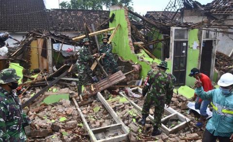 इन्डोनेसियामा ६ म्याग्नेच्यूडको भूकम्प