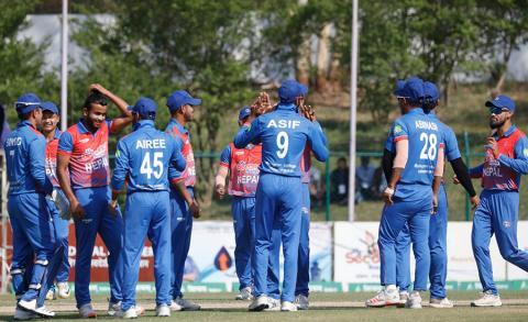 नेपालले जित्याे त्रिकोणात्मक टी–ट्वान्टी क्रिकेट सिरिज