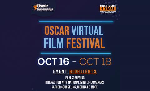 ओस्कार कलेजको 'भर्चुअल फिल्म फेस्टिभल' हुँदै
