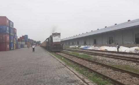 वीरगञ्जमा पहिलोपटकआइपुग्यो निजी क्षेत्रको रेल