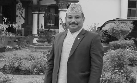 नेपाल संवत् न्हूदँ समारोह समिति ११४१ का अध्यक्ष  रमेश महर्जन रहेनन्